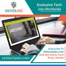 Subscribe For The Best Tech Jobs